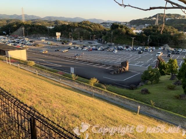 とれとれの湯(和歌山県白浜町)他の施設と共有の駐車場