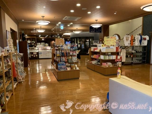 とれとれの湯(和歌山県白浜町)の売店、お土産など