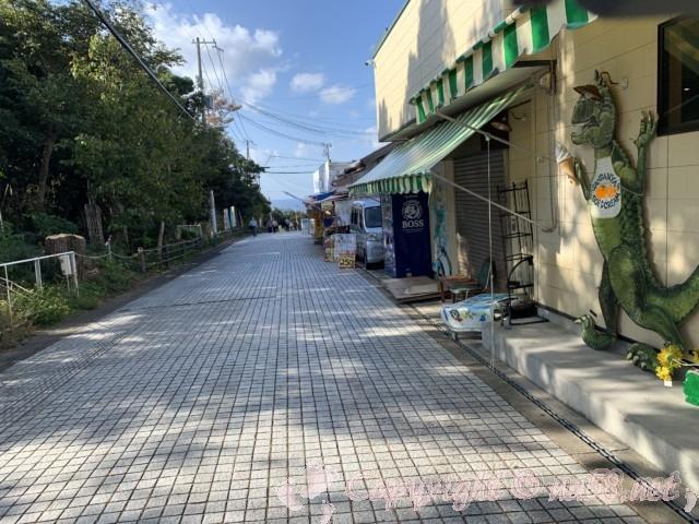 「三段壁」(和歌山県白浜町)公民館の駐車場無料から徒歩1分