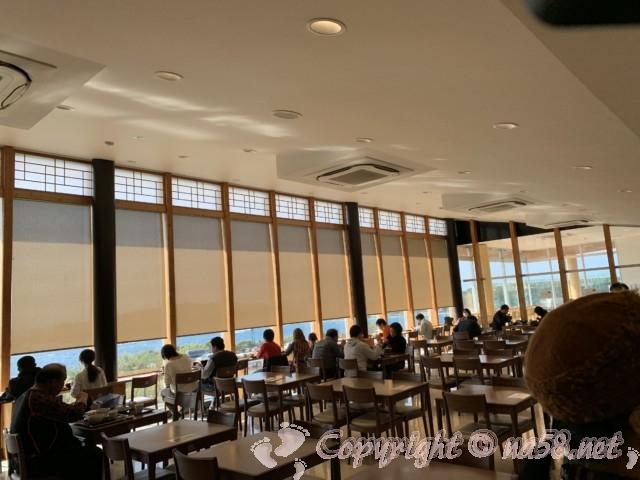 「道の駅すさみ」和歌山県すさみ町 食事レストランの店内