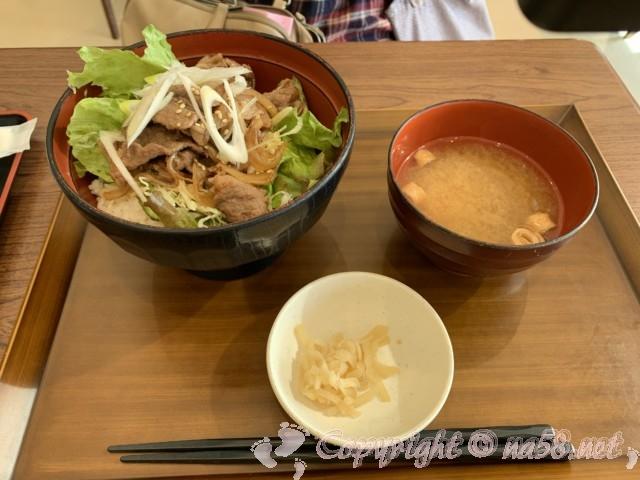 「道の駅すさみ」和歌山県すさみ町 食事レストラン イノブタ丼