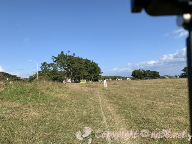 本州最南端 潮岬(和歌山県串本町)望楼の芝