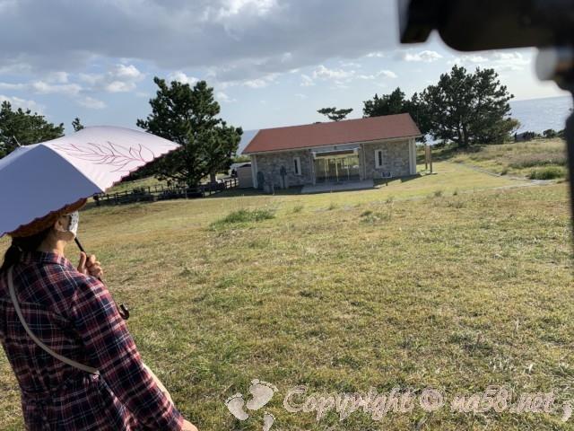 本州最南端 潮岬にある無料休憩所「潮風の休憩所」(和歌山県串本町)