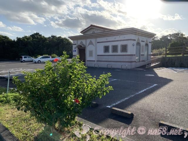 トルコ記念館(和歌山県串本町紀伊大島)無料駐車場とトイレ