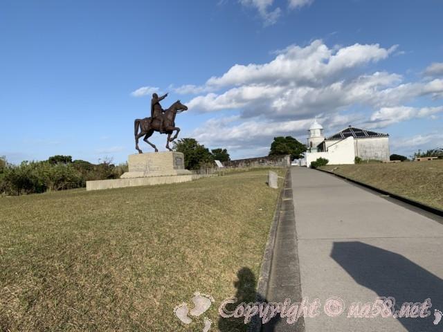 トルコ共和国初代大統領アタテュルク像(和歌山県串本町紀伊大島)