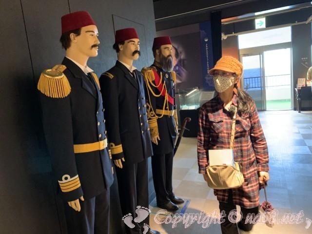 トルコ記念館(和歌山県串本町紀伊大島)トルコ船の乗組員の人形