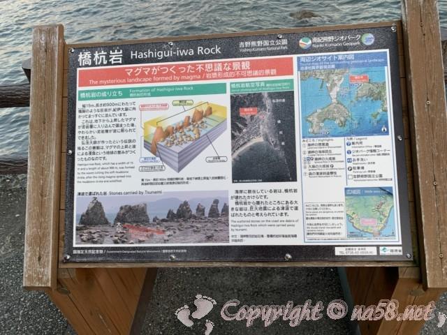 国の名勝天然記念物「橋杭岩」(和歌山県串本町)どのように出来上がったかの解説