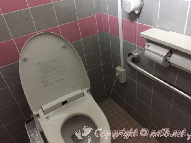 「道の駅くしもと橋杭岩」(和歌山県串本町)のトイレ 個室