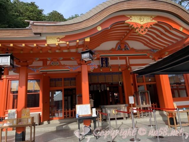 熊野那智大社 拝殿(和歌山県那智勝浦町)