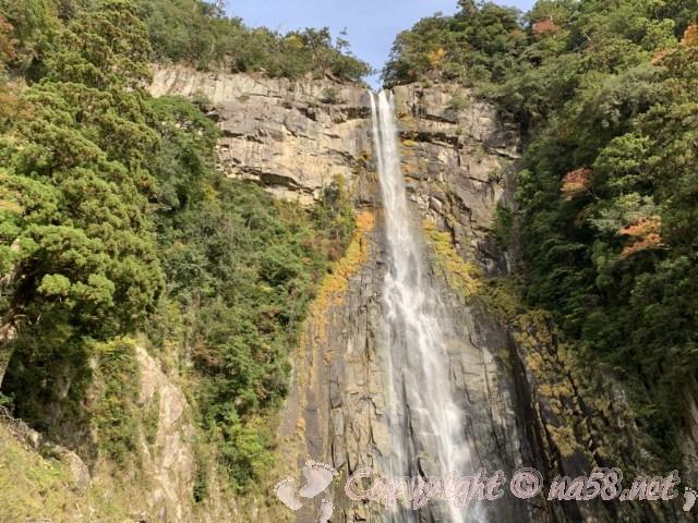 那智の滝「お瀧拝所」から見る那智の大滝