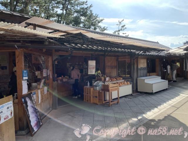 「道の駅 熊野・花の窟」(三重県熊野市)お土産店 イザナミ米古代米、みかんなど