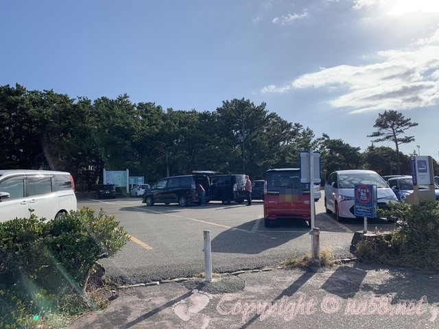 千畳敷(和歌山県白浜町)の駐車場