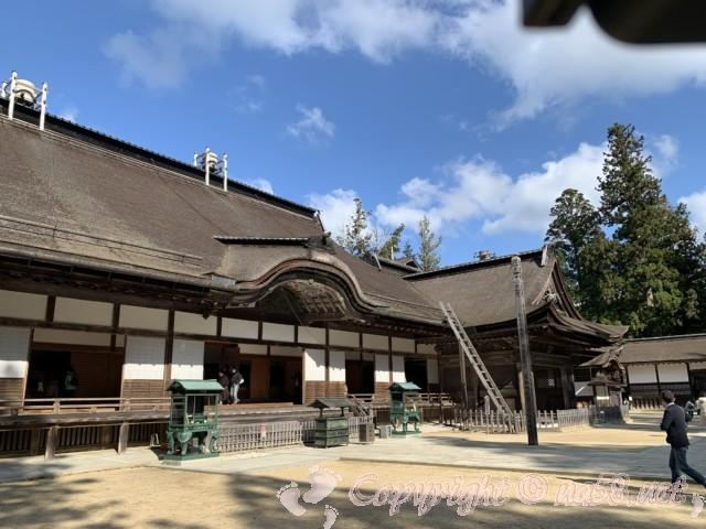 高野山の金剛峯寺 外観(和歌山県高野町)