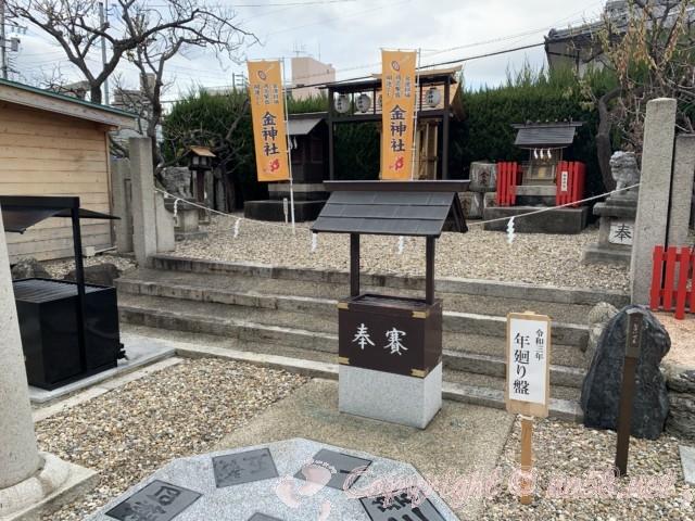 金神社(こがねじんじゃ)名古屋市北区山田町