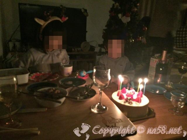 あま市の仏蘭西風洋菓子ミストラル(Mistral)のケーキでクリスマス会