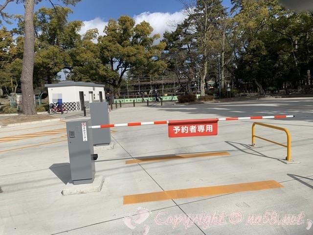 豊国神社 愛知県名古屋市中村区 正面左にある駐車場 予約制