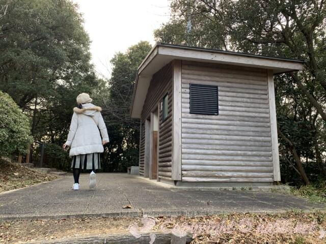 聖崎公園(愛知県南知多町)高台までにトイレ2か所