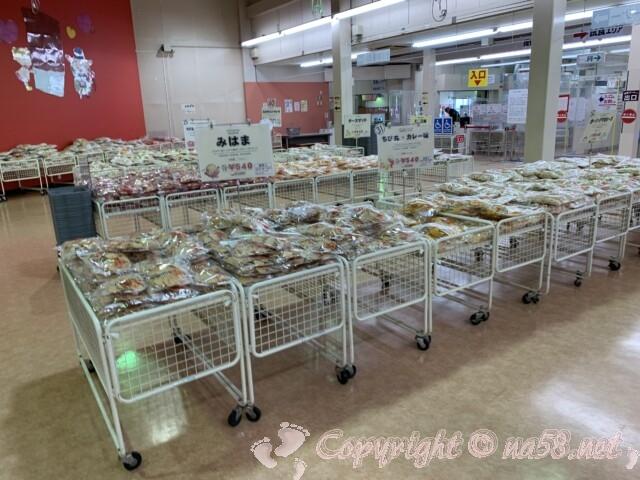 えびせんべいの里美浜本店 愛知県美浜町 商品販売陳列