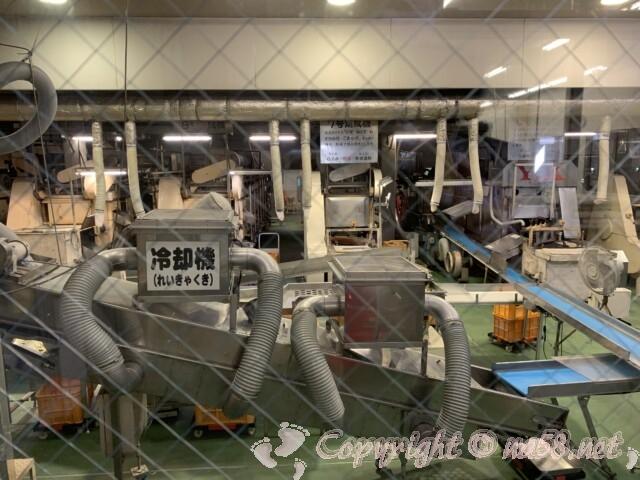 えびせんべいの里美浜本店 愛知県美浜町 工場見学