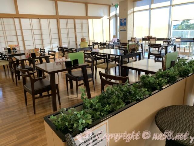 マーゴの湯 常滑温泉 愛知県常滑市 食事処「えびす」の店内