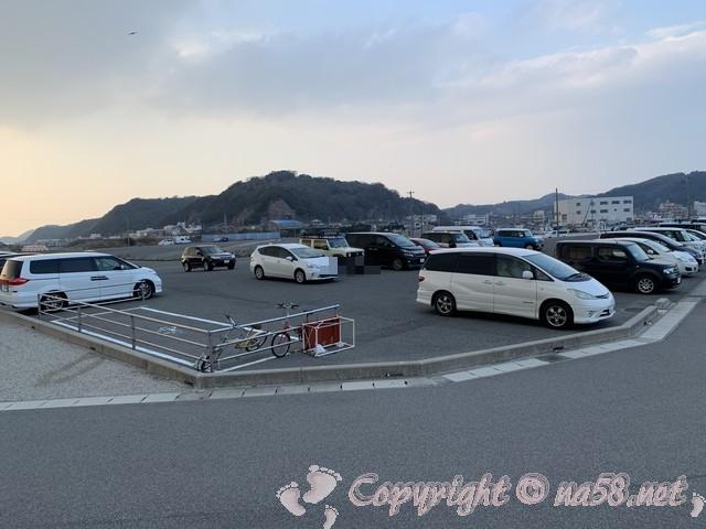「豊浜海釣り公園」愛知県南知多町 の駐車場