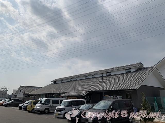 「まちの駅味の蔵たけとよ」武豊町 駐車場と施設