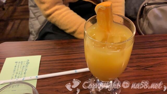 コンパル大須(名古屋中区)オレンジジュース