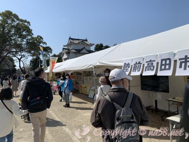 金鯱展(名古屋市中区)陸前高田市の観光物産ブース
