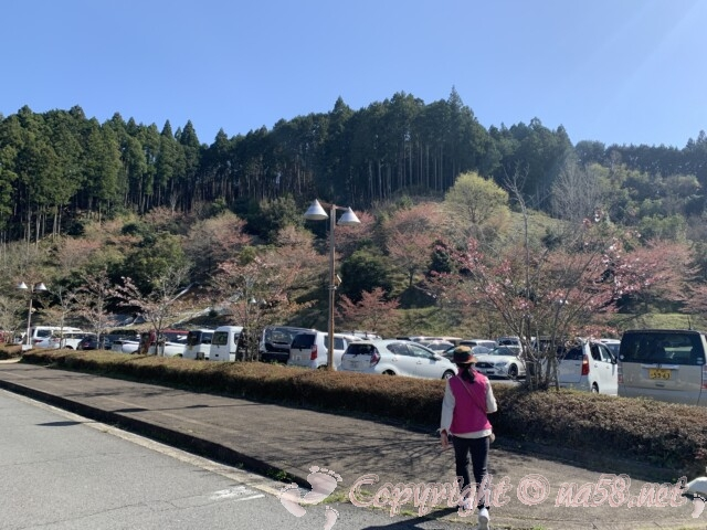 大宇陀温泉あきのの湯(奈良県宇陀市)天然温泉 駐車場