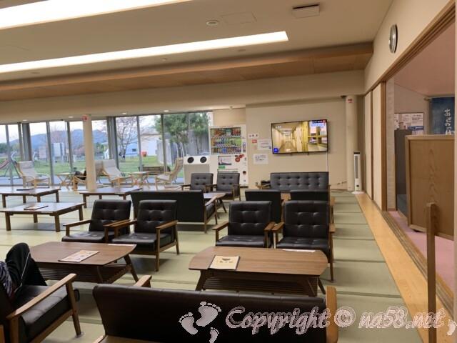 大宇陀温泉あきのの湯(奈良県宇陀市)無料休憩室