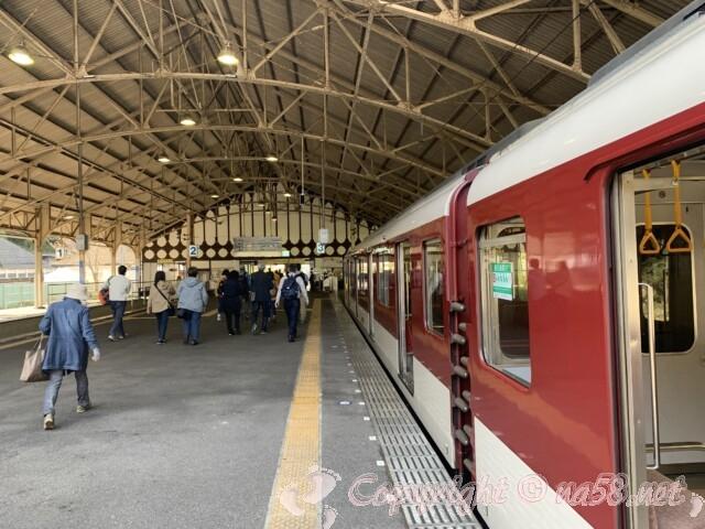 近鉄吉野駅 駅構内と電車車両