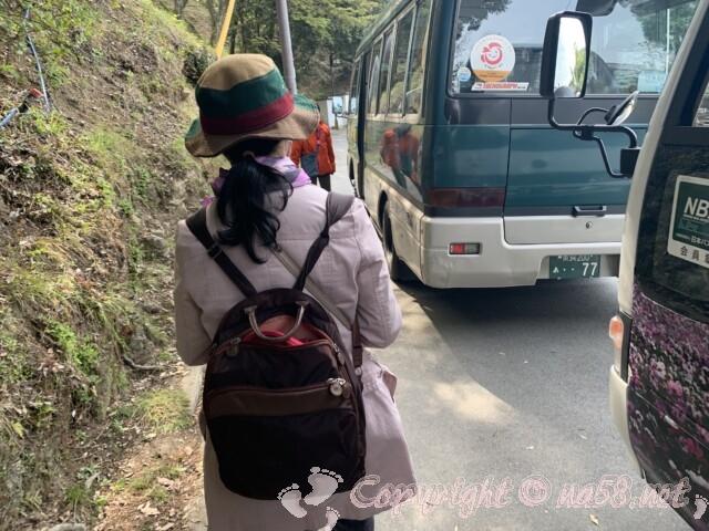 吉野山 竹林院から奥千本口までのバス