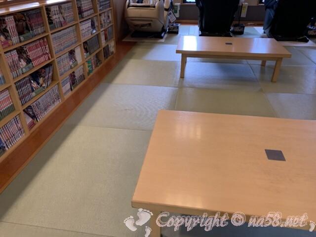 あすかの湯(奈良県橿原市)畳の大休憩室