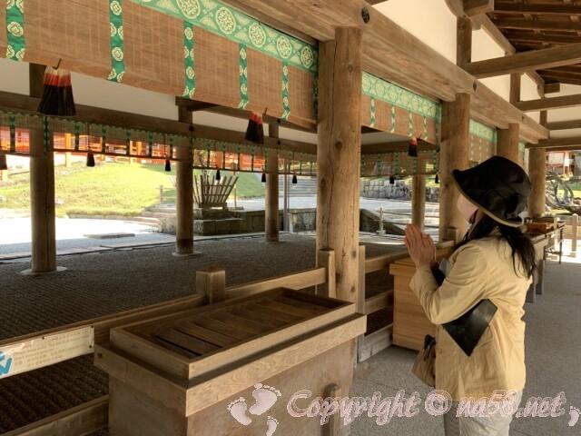 奈良県春日大社 本殿前