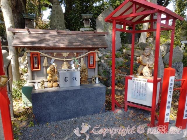 別小江神社(名古屋市北区)の境内にある金刀比羅社