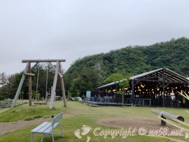 伊木山フォレスト キャンプ場 バーベキュー場