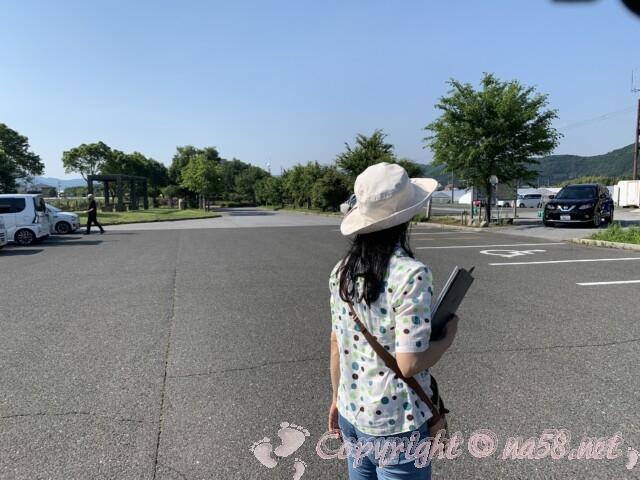 道の駅湖北みずどりステーション(滋賀県長浜市)駐車場