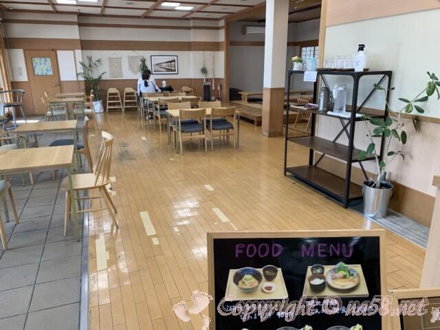 道の駅湖北みずどりステーション(滋賀県長浜市)レストラン店内