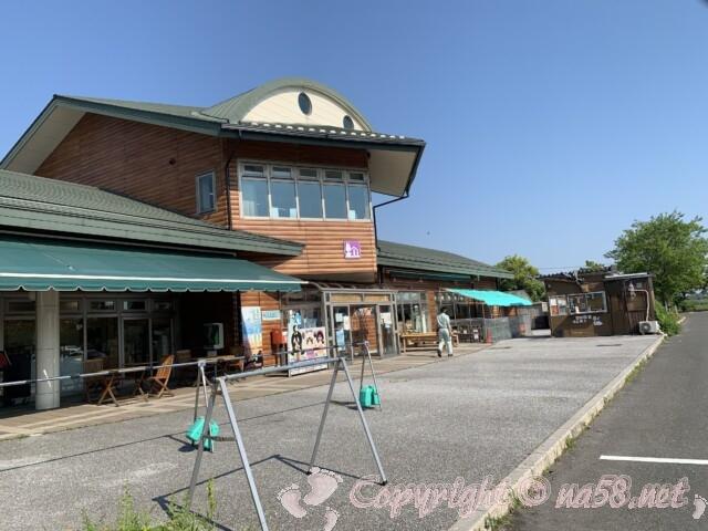 道の駅湖北みずどりステーション(滋賀県長浜市)自転車用駐輪所