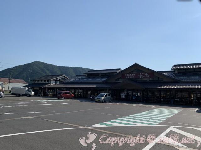 道の駅 塩津海道あぢかまの里(滋賀県長浜市)の駐車場と施設
