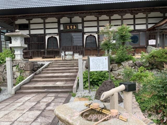 全長寺(ぜんちょうじ)滋賀県長浜市 本堂