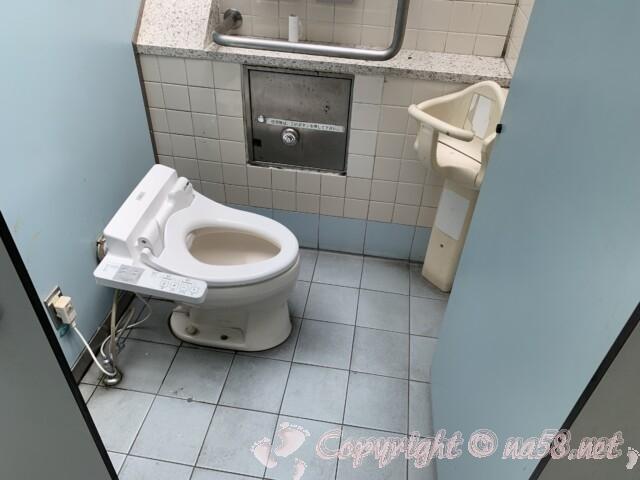 「道の駅 竜王かがみの里」滋賀県蒲生郡 トイレ