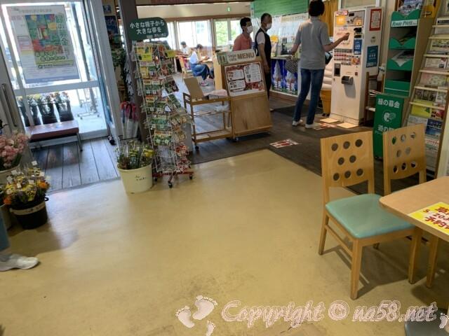 道の駅草津(滋賀県草津市)の飲食 ベジカフェレストラン