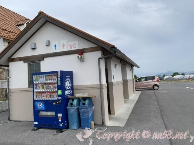 「道の駅 アグリパーク竜王」(滋賀県蒲生郡)トイレ