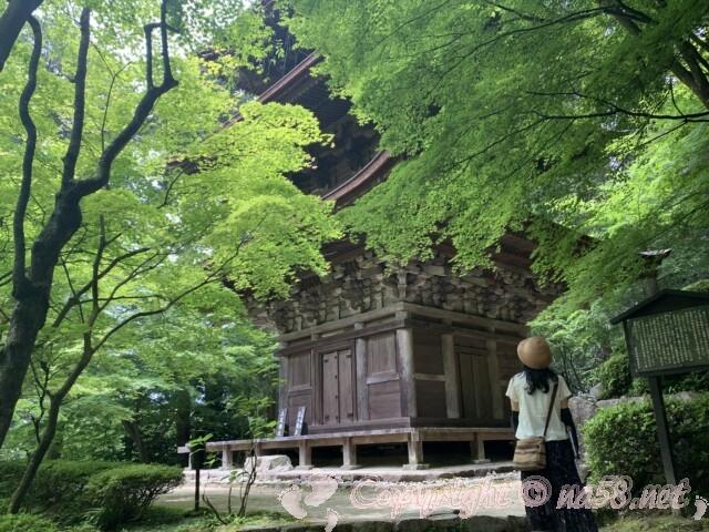 金剛輪寺(滋賀県愛知郡)三重塔 重要文化財