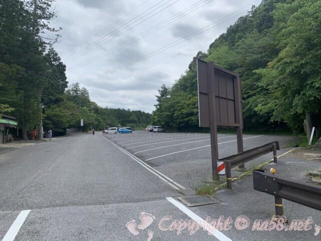 金剛輪寺(滋賀県愛知郡)駐車場