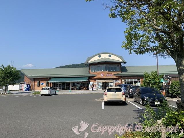 道の駅湖北みずどりステーション(滋賀県長浜市)の正面