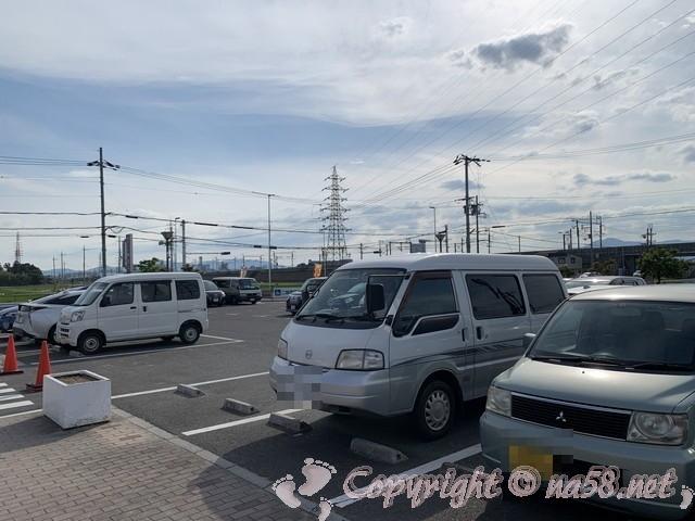 「道の駅 アグリの郷栗東」(滋賀県栗東市)の駐車場