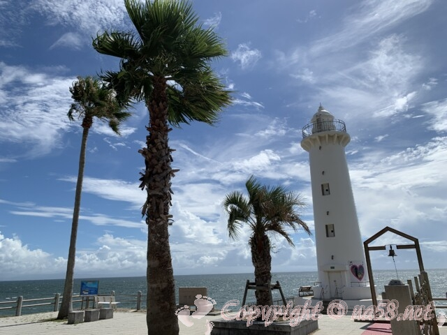 野間灯台(愛知県美浜町)と絆の音色