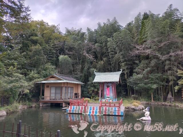 日本ライン花木センター・弁天様